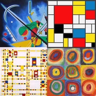 Les Enfants Redonnent Vie Aux œuvres De Mondrian Et De Kandinsky Magic Makers