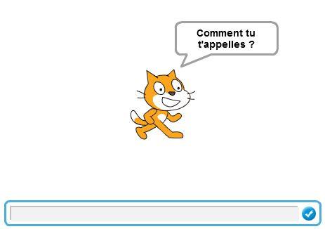 Scratch 2 Scratch Online Tutoriels Demander Mon Nom