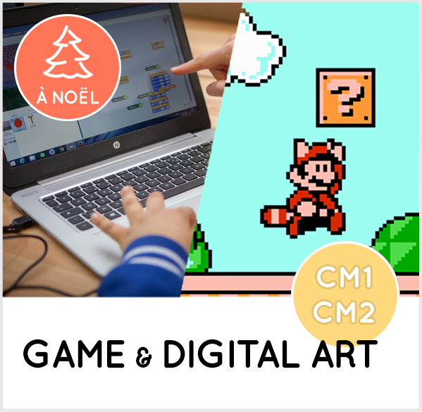GAME & DIGITAL ART CM1-CM2