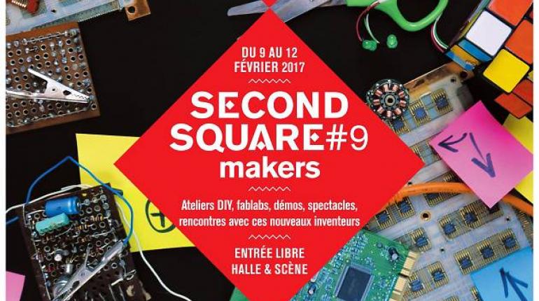 Second Square Makers : Magic Makers au Carreau du Temple